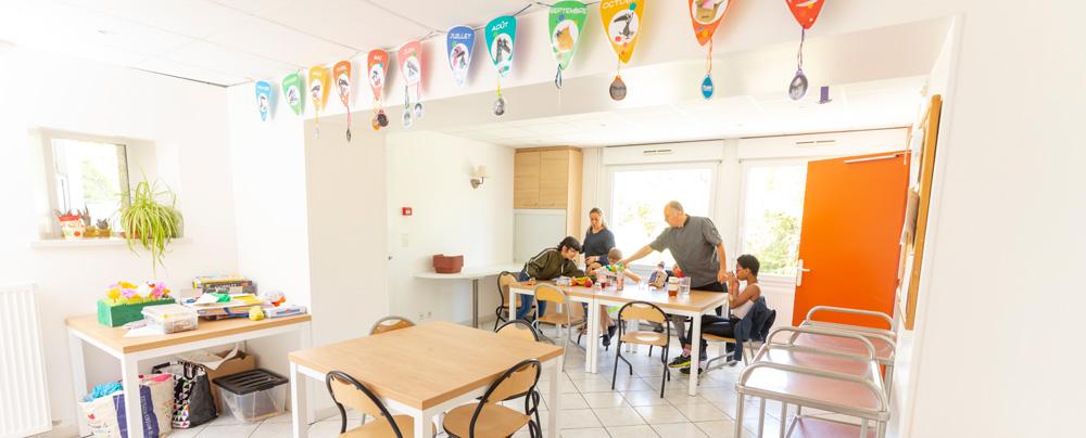 Accueil d'enfants à la MECS du Chambon-sur-Lignon